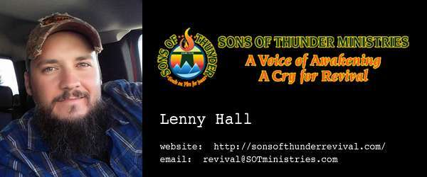 Lenny Hall, Sons of Thunder Ministries