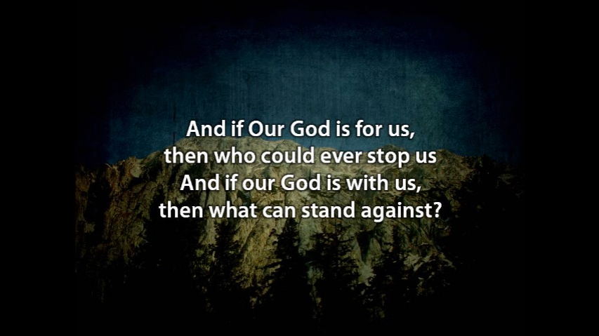 """Worship:  """"Our God"""" by Chris Tomlin"""