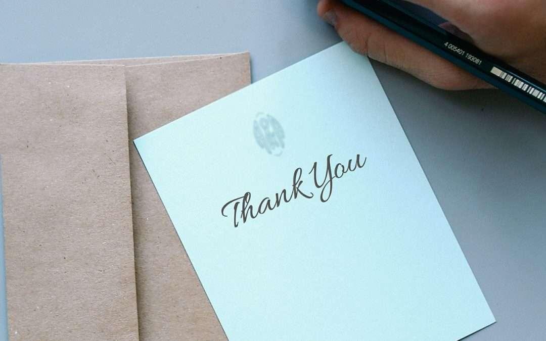 Thank You, Grateful
